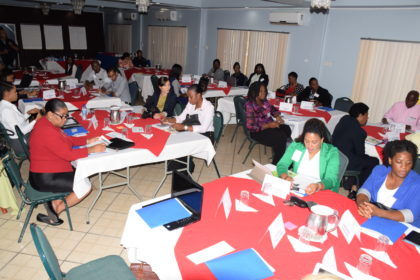 Participants at Gender in DRM for Agriculture workshop