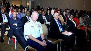 Delegates attending the Opening Ceremony of the Ninth Comprehensive Disaster Management Conference of CDEMA, Monday, November 30, 2015 at Melia Nassau Beach Resort. (BIS Photo/Kemuel Stubbs)