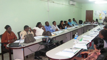A section of the participants during the Emergency Operations Centre Management training