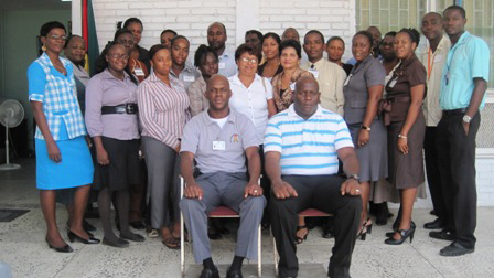 Participants of the Damage Assessment and Needs Analysis training