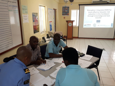 EWS Validation in in St. Vincent and the Grenadines