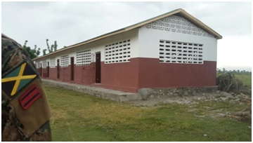 AFTER: CARICOM's rehabilitation of the Ecole Nationale De Sicard de Pelerin School in Les Cayes post Hurricane Matthew