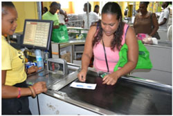 A citizen of Barbuda using the voucher on behalf of a disabled beneficiary