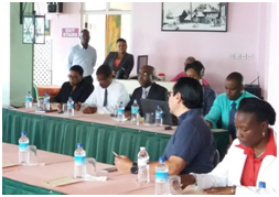 A section of the audience during the launch of the Members of the MSSP and National Safe Schools Programme Committee in Dominica on march 19, 2018 (Photo courtesy: Dominica News Online)