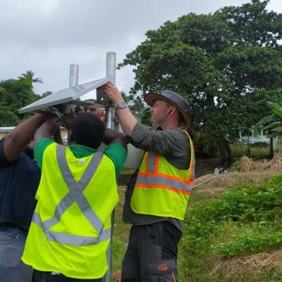 Reach Project Weather Station Installation Slu 16