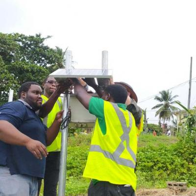 Reach Project Weather Station Installation Slu 17