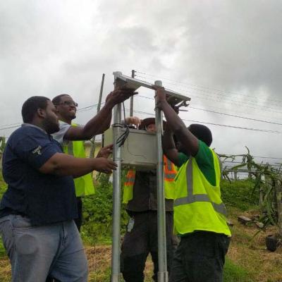 Reach Project Weather Station Installation Slu 18