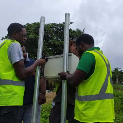 Reach Project Weather Station Installation Slu 19