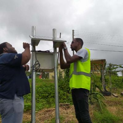 Reach Project Weather Station Installation Slu 20