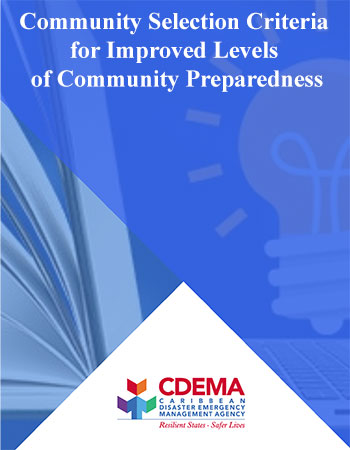 Community Selection Criteria for Improved Levels of Community Preparedness