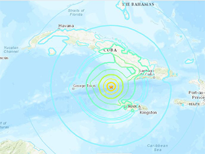 CDEMA Situation Report #1 - 7.7 Magnitude Earthquake jolted Northern Caribbean as of 6:00PM (AST) on January 28th, 2019