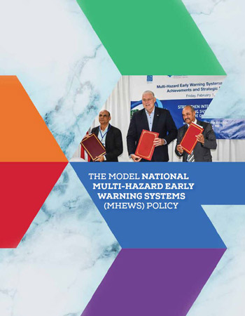 Model National Multi-Hazard Early Warning Systems (MHEWS) Policy and Adaptation Guide