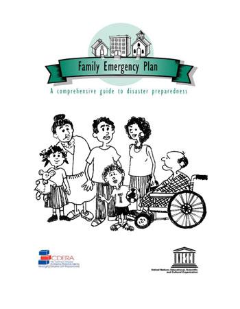 CDEMA Family Emergency Plan