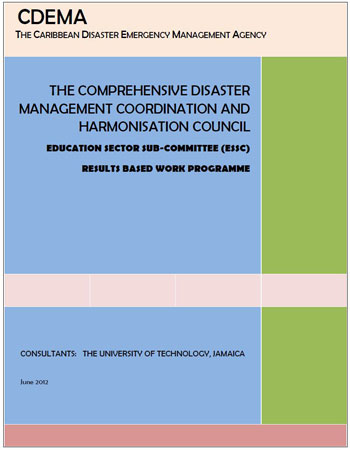 The CDM Coordination and Harmonisation Council - ESSC Results Based Work Programme