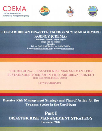 Disaster Risk Management Strategy & Plan of Action for the Tourism Sector Part 1 - Dec 2009