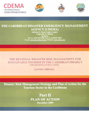 Disaster Risk Management Strategy & Plan of Action for the Tourism Sector Part 2 - Dec 2009