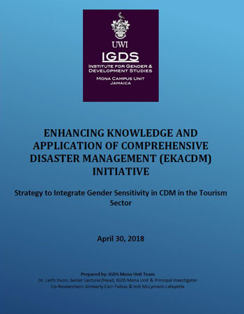 EKACDM Strategy to Integrate Gender Sensitivity in CDM in the Tourism Sector