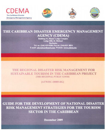 Guide for the Development of National DRM Strategies for the Tourism Sector - Dec 2009