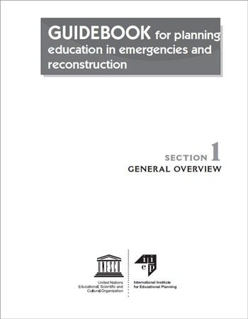 Guidebook for Planning Education in Emergencies & Reconstruction