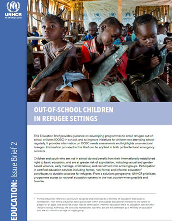 Out-Of-School Children in Refugee Settings