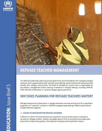 Refugee Teacher Management