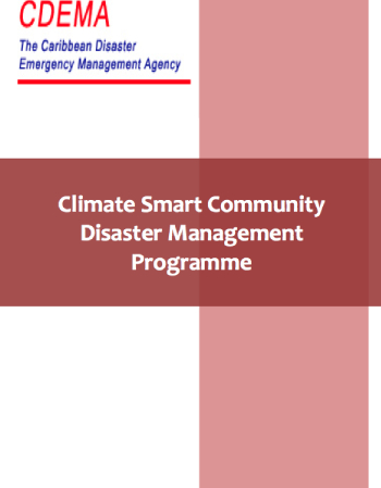 Climate Smart Community Disaster Management Programme