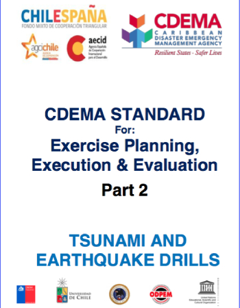CDEMA Standard for Exercise Planning Execution & Evaluation Part 2 – Tsunami and Earthquake Drills