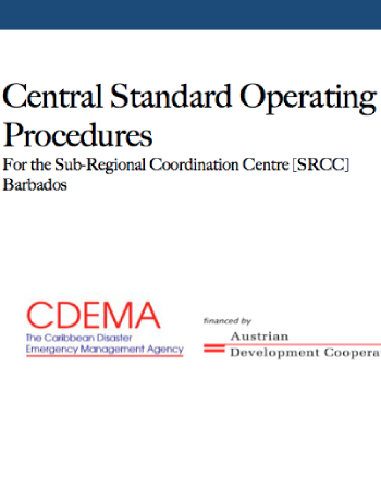 Central Standard Operating Procedures for the Sub-Regional Coordinating Center