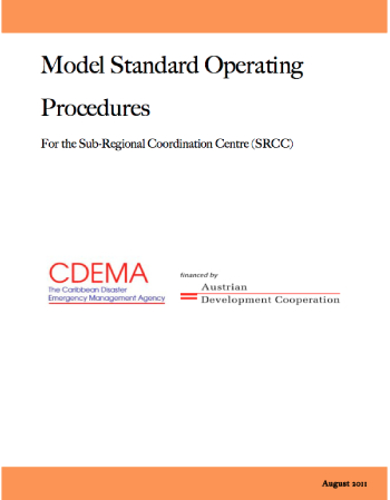 Model Standard Operating Procedures for The Sub-Regional Coordinating Center