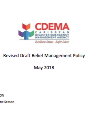 Revised Draft Relief Management Policy