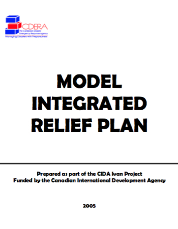Model Integrated Relief Plan