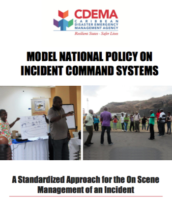 Model National Policy on Incident Command Systems