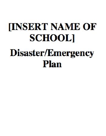 CDEMA Model Safe School Programme for Caribbean Schools Tool Kit (Part 2)